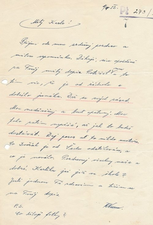 Dopis od vychovatele Wurma