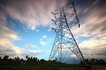 Elektřina, ilustrační fotografie.