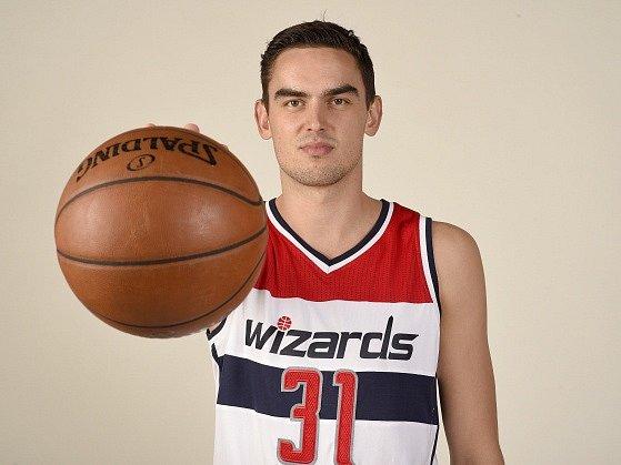 Tomáš Satoranský v dresu Washingtonu Wizards