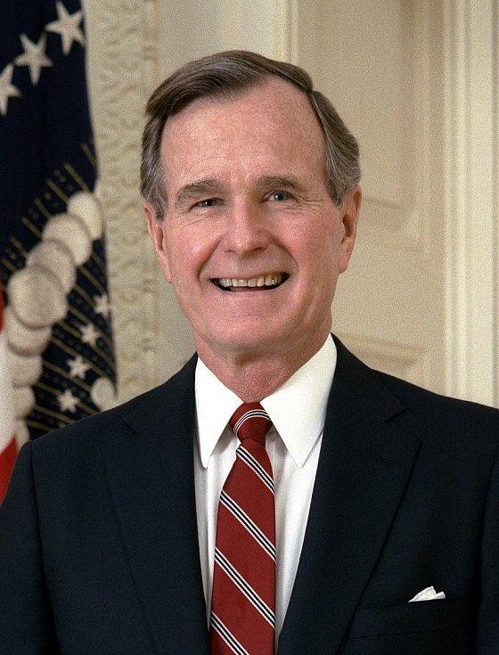 Prezidentský portrét George H. W. Bushe