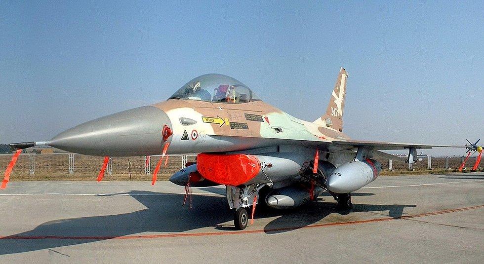 Stíhačka  F-16A 243, kterou během operace Opera pilotoval plukovník Ilan Ramon