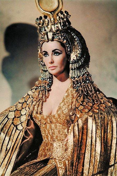 Liz Taylor v roli Kleopatry dosud nikdo nepřekonal