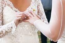 Církevní svatby páru stejného pohlaví v kostele fungují v Dánsku od roku 2012.