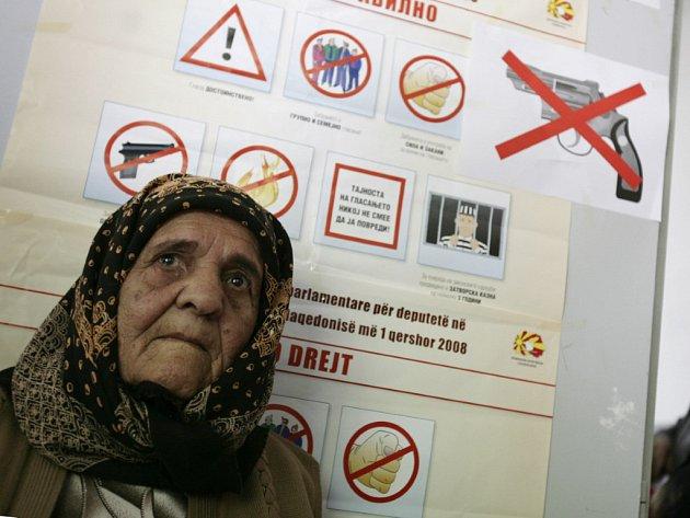 V Makedonii volili převážně etničtí Albánci.