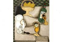 Obraz Antonína Procházky Čaj s citronem se v dnešní aukci v Praze prodal za 6,6 milionu korun.