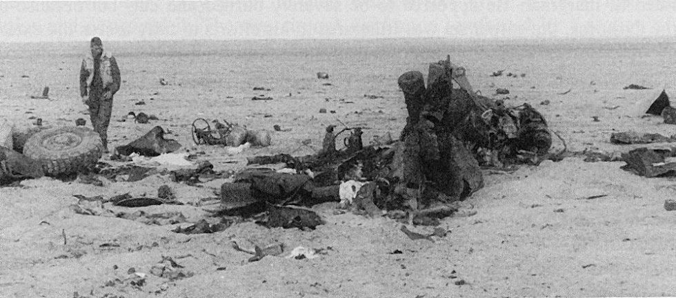 V bitvě o Chafdží docházelo i k tragickým omylům. Obojživelný obrněný transportér LAV-AT zničila bohužel přátelská střelba, konkrétně protitanková raketa
