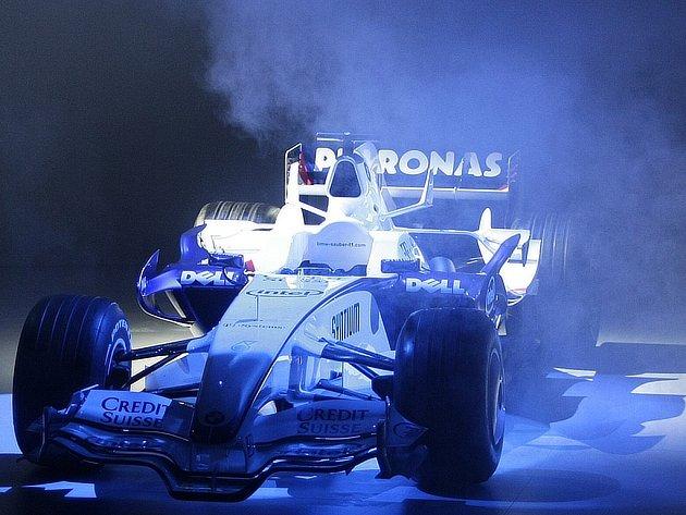 Nový monopost BMW Sauber F1.08 byl představen v sídle automobilky BMW v Mnichově.