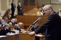 Zasedání Senátu. Ilustrační snímek