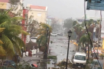 Devastace, kterou na ostrově Svatý Martin zanechal hurikán Irma