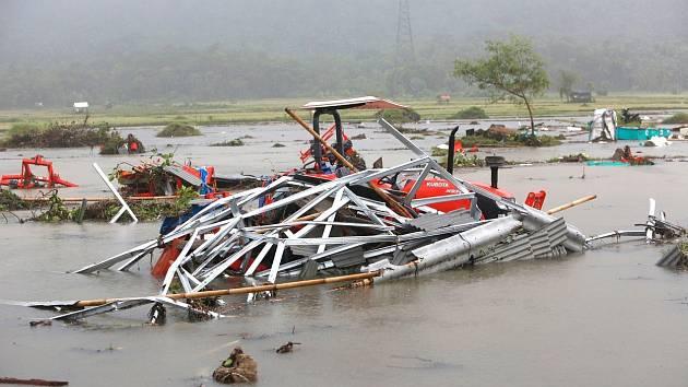 Vlna tsunami v Indonésii  v prosinci 2018