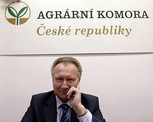 Prezident agrární komory ČR Jan Veleba