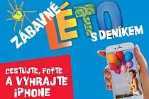Cestujte, foťte se a vyhrajte s Deníkem iPhone!
