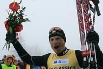 Vítěz Jizerské padesátky 2012 Stanislav Řezáč.
