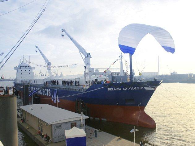 Zařízení, jaké používá německý tanker Beluga, sníží spotřebu pohonných hmot až o pětinu.