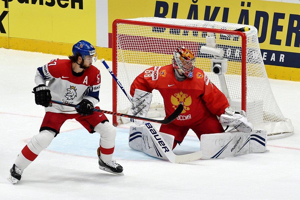 Bratislava 26.5.2019 - Mistrovství světa v Bratislavě - zápas o bronz mezi Českem a Ruskem