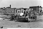 Obsazování Stalingradu německými jednotkami
