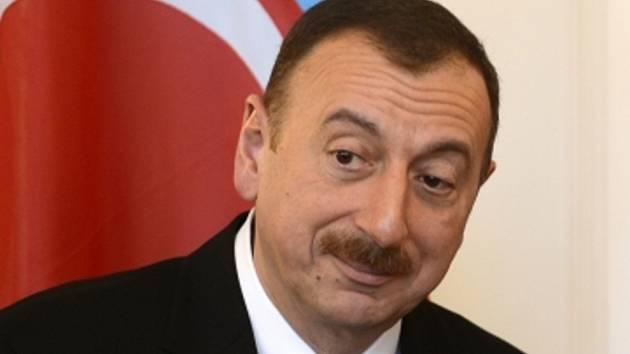 Ázerbájdžánský prezident Ilham Alijev.