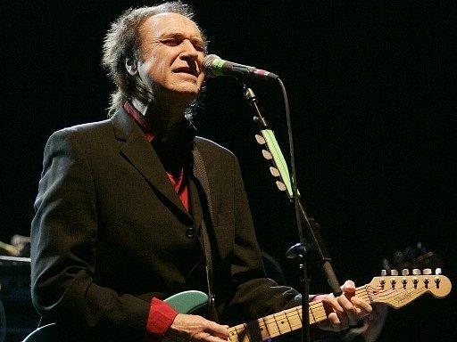 Zpěvák Ray Davis, někdejší frontman skupiny Kinks.