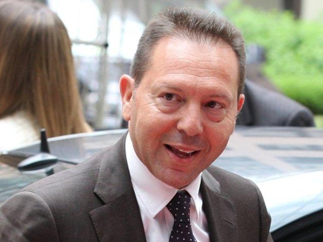Řecký ministr financí Jannis Sturnaras.