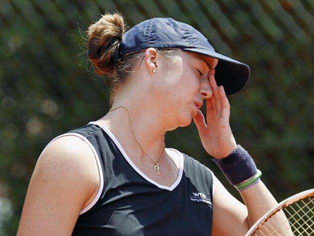 Ruská tenistka Alisa Klejbanovová.