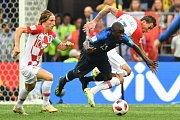 Finálový zápas Chorvatů a Francouzů