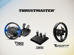 Herní volanty Thrustmaster.