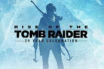 Počítačová hra Rise of the Tomb Raider: 20 Year Celebration Edition.