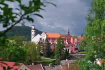 Město Klášterec nad Ohří.