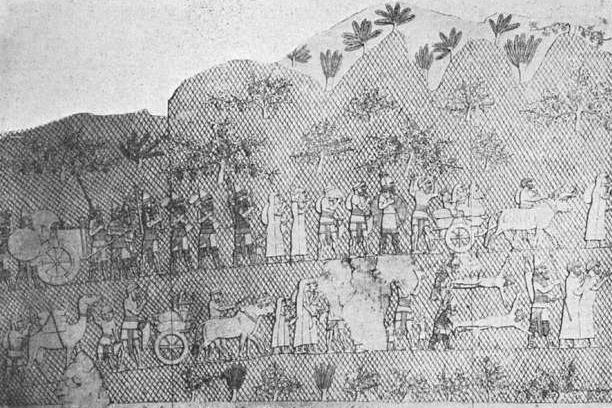 Judští zajatci jsou odváděni do zajetí po dobytí Lachiše Sinacheribem roku 701 př. n. l.