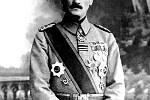 Vůdce Turků Mustafa Kema Atatürk v roce 1918