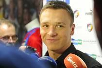 Kanonýr fotbalové Plzně Stanislav Tecl.