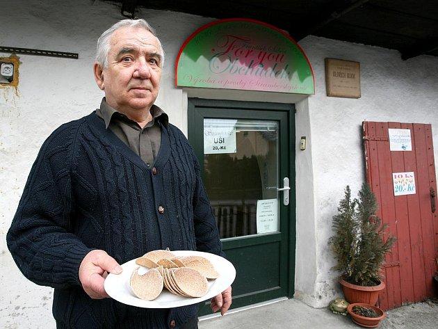 František Šubert začal s výrobou štramberských uší ještě před listopadem 1989.