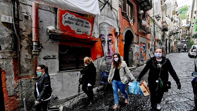 Itálie v době koronaviru