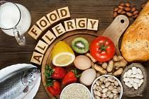 Alergeny v jídle