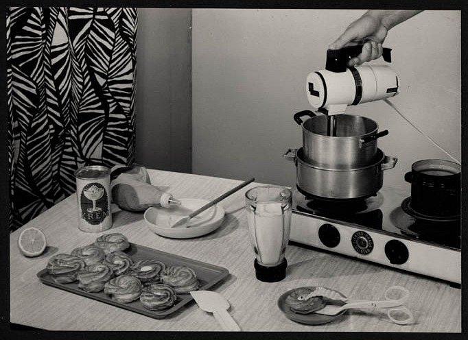 Příprava jídla za socialismu