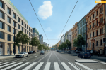 Radlická ulice navrhovaná podoba.