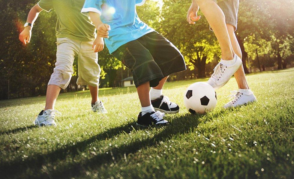 Sportující děti. Ilustrační snímek