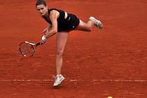 Nejlepší česká tenistka Iveta Benešová na ECM Prague Open.