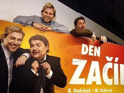 Roman Ondráček a Miloš Pokorný patří k nejoblíbenějším moderátorům v české kotlině.