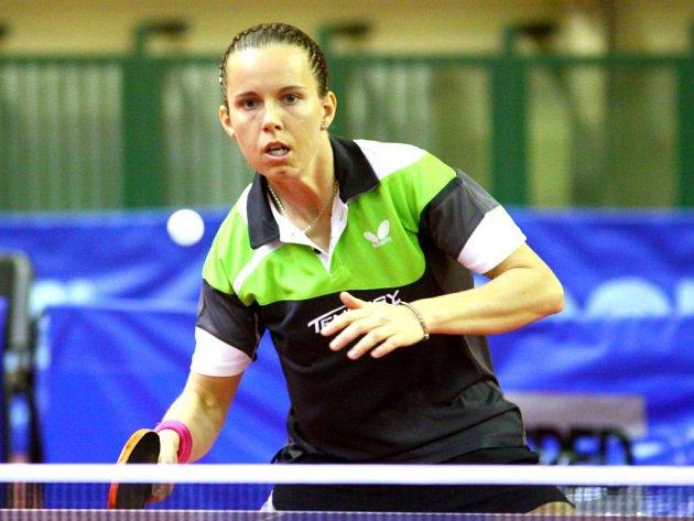 Iveta Vacenovská uhrála klíčové dva body se Slovenskem.