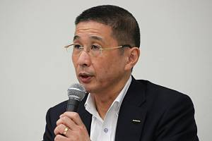 Ředitel japonské automobilky Nissan Hiroto Saikawa