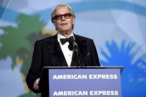Americký herec Peter Fonda na filmovém festivalu v Palm Springs na snímku z 2. ledna 2018.