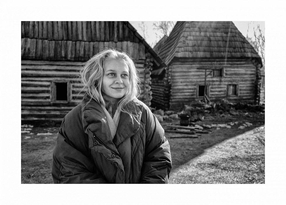 Fotografie z natáčení Julia Vidrnáková