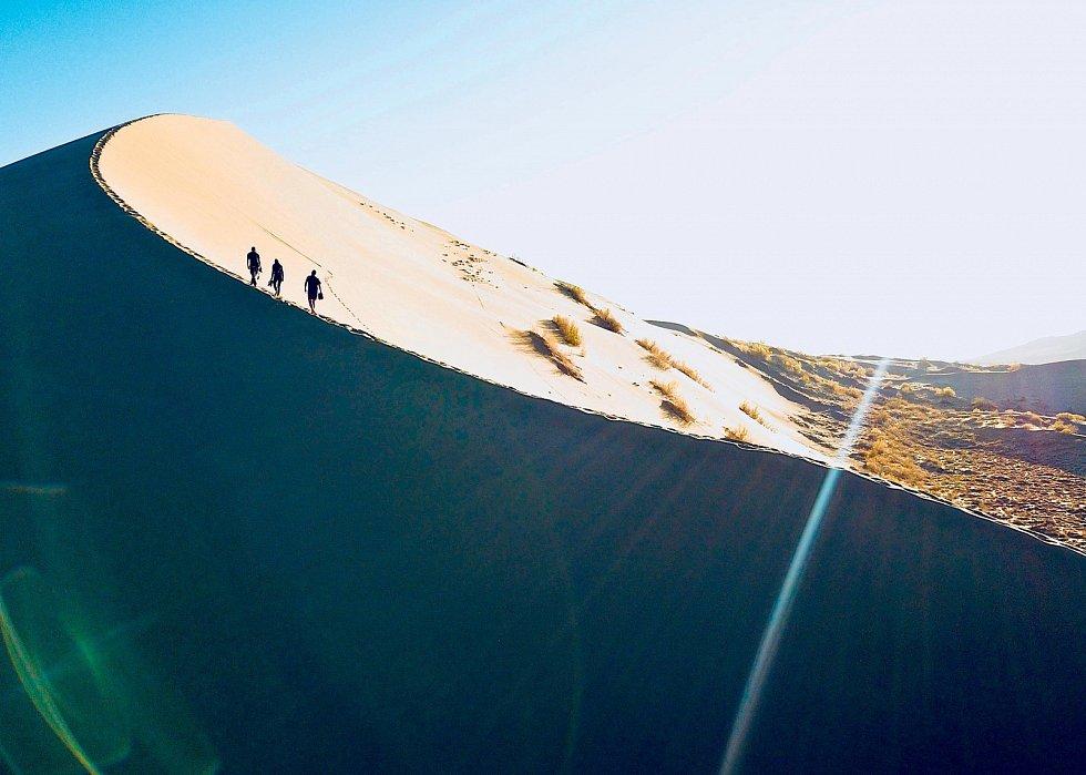 Zpívající duna, Kazachstán