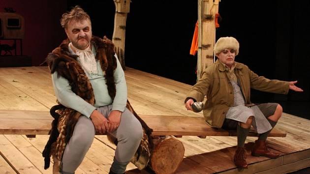 Divadelní hra Lakomec. Ilustrační foto.