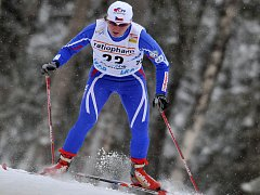 Česká běžkyně na lyžích Eva Nývltová.