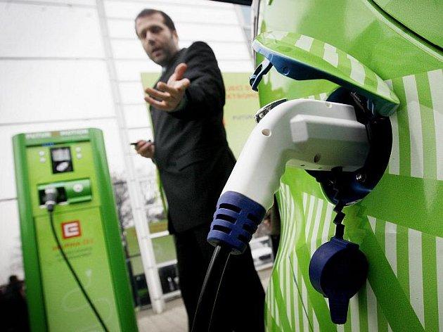 dobíjecí stanice pro elektromobily