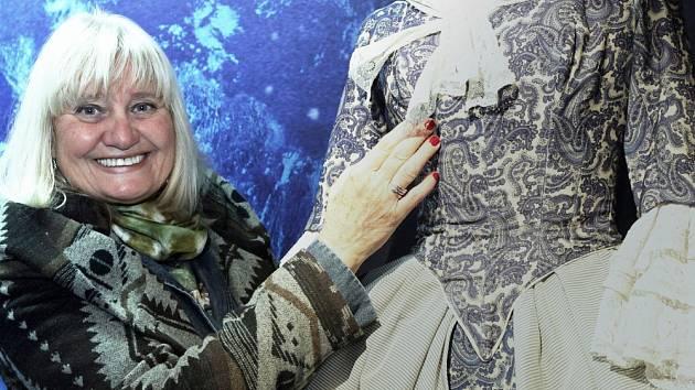 Muzeum Karla Zemana slaví první narozeniny a rozšiřuje expozici. Rozšířenou expozici originálních kostýmů přijela z Kanady otevřít Ludmila Zemanová, dcera režiséra. Na snímku kostým z filmu BARON PRÁŠIL.