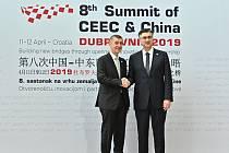 Premiér Andrej Babiš na summitu zemí střední, východní a jihovýchodní Evropy a Číny v chorvatském Dubrovníku