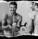 Beckham v reklamě na House 99